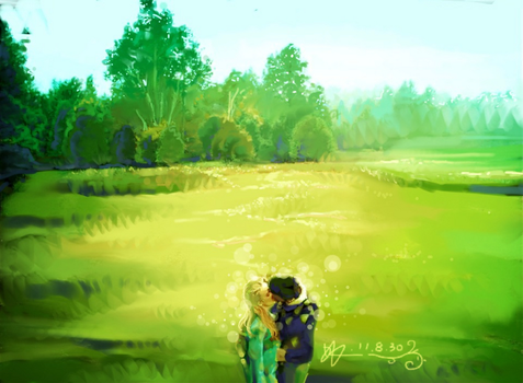 Ipad works:KISS by songalone