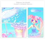 Dream in Color - Artbook Preview by Yamio