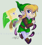 Link Between Worlds by VickyViolet