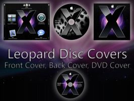 Leopard Disc Covers by TheSimson