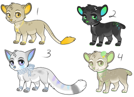 Lion Adoptables - CLOSED by Railguns