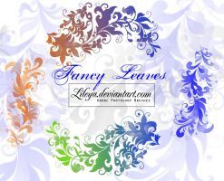 Fancy leaves by Lileya
