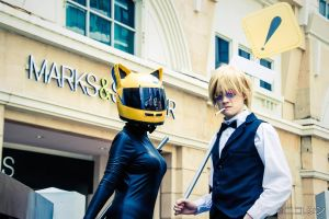 Celty and Shizuo by generaltifa