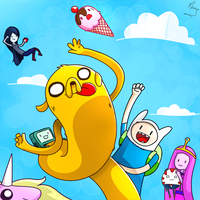 ADVENTURE TIME by Magnum-Redstar