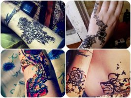 tests. henna by my-name-is-ally