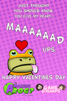Game Grumps Valentine's Cards - Mad Ups by Trusty-Sidekick