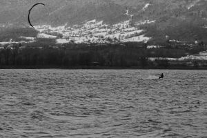 Kite on the Lake by organicvision