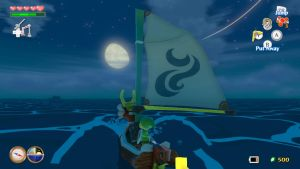 Wind Waker HD: Guided By The Moon by RazorVolare