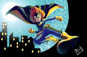 The new Batgirl by Josh-Ulrich