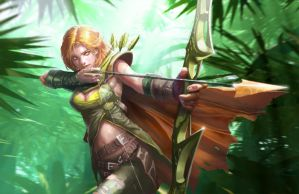 Windrunner by longai