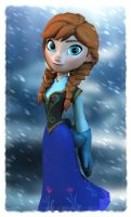 Disney's Frozen: Anna by Irishhips