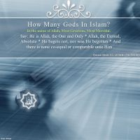 HOW many gods in islam? by masy1