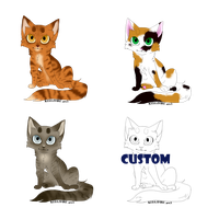Kitten Adoptables  (One left!) by Bayflight