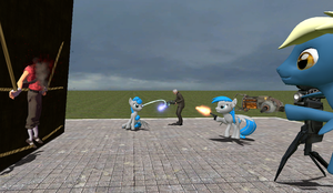 Making a Gmod Picture by XFlamingFoxX