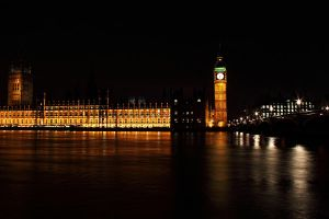 Houses of Parliament and Elizabeth tower by kupenska