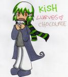 KISH LURVES CHOCOLATES by sweetscankill
