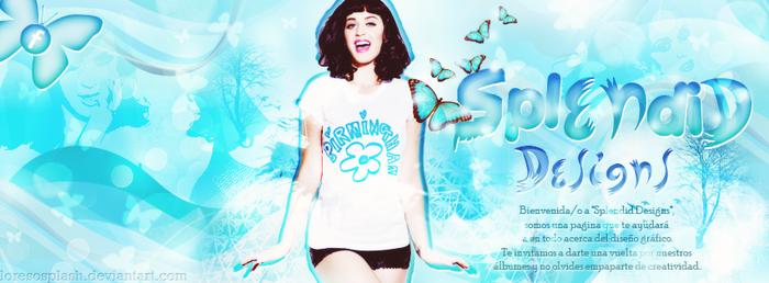 Portada Katy Perry [Splendid Designs] by LoreSoSplash