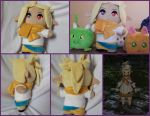 Final Fantasy Lalafell custom plush by DogerCraft