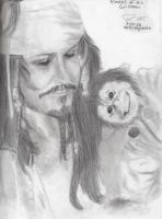 Jack Sparrow and Jack by carlotta-guidicelli