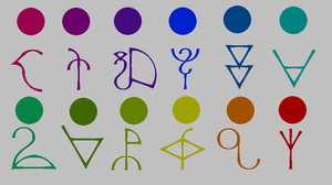 Fantroll Symbols and Blood Colors by TheLoveOfNayru