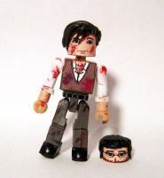 Lionel and Half Head Zombie (Dead Alive) by luke314pi