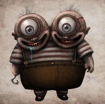 Siamese Cyclops by D3RX