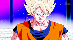 Goku Universe Surviver - Old Style by SaoDVD