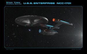 Star Trek AR USS Enterprise NCC-1701 by dragonpyper