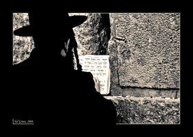 Praying at the Western Wall 2 by talgreen