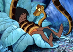 Kaa like Mowgli by pasta79