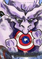 Captain America 2, The Winter Soldier - Dragon Man by 10th-letter