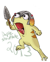 Battle Quiggle by DupleSnowflake
