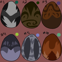 Cat egg adopts 1... ALL GONE by SassyHeart