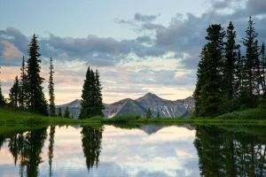 Morning at Paradise Divide by kennedmh