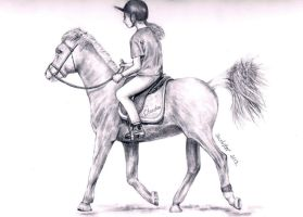 Request: Out Riding by annoKat