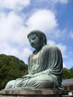 Great buddha statue by jofrine