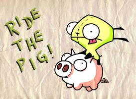 Gir Piggy by Gummi-Pirate-Crew