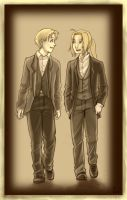 Elric Brothers by Irrel