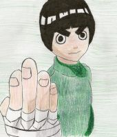 Rock Lee by yourFACEEE