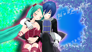 Contest Entry: I feel so at peace with you by XenoShaun