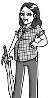 Lumberjacked: kati by greensprout