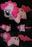 Custom Pinkie Pie Pillow Pet Style Plush by Sophillia