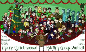 RWAM Christmas Portrait by nehdeen