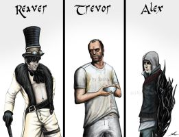 My favorit game characters by SessaV