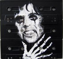 painting of alice cooper by tyler-yaaay