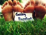 Going Barefoot! by VLPhotography