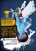 NYIT Speaker Contest Poster by venomx
