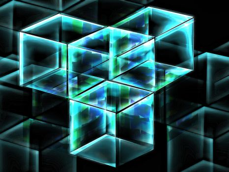 3d abstract boxes by owaeyss