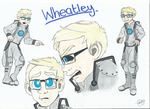 Wheatley by randomsauceontoast