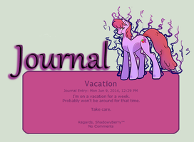 ShadowBerry Journal Skin by ShadowyBerry